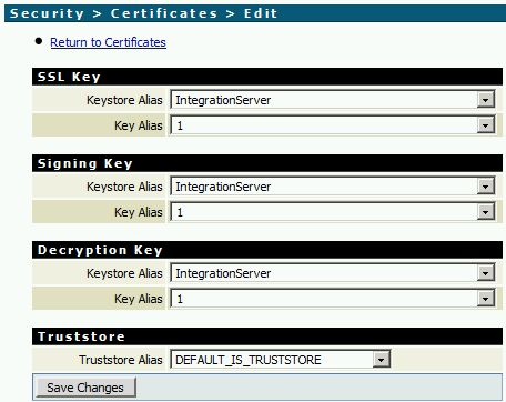 Add a certificate in webMethods Integration Server