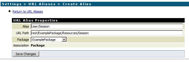 Creating a URL Alias in webMethods Integration Server