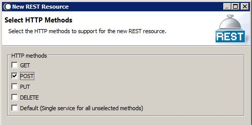 Creating a REST Resource in webMethods Integration Server - Step 3