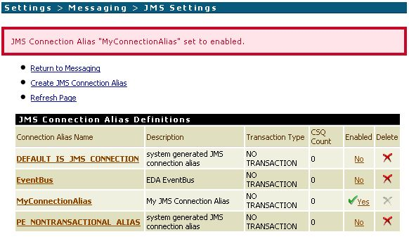 How to test JMS processing in webMethods/Terracotta Universal