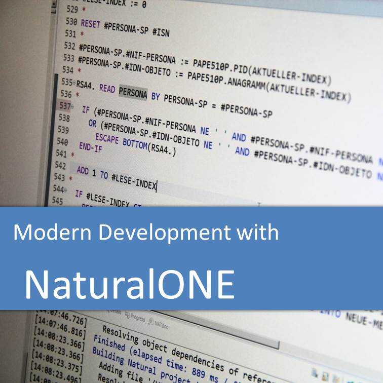 Modern Natural Development with NaturalONE