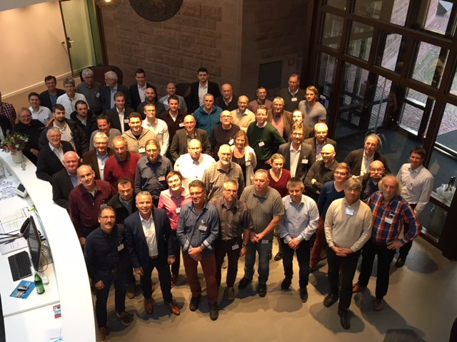 About 60 Natural Developers get together for the German Natural User Group in November 2017 in Darmstadt