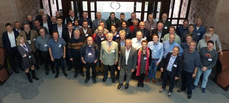 Attendees of the German Natural User Group in November 2018